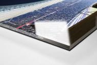 Licht an im Berliner Olympiastadion als Direktdruck auf Alu-Dibond hinter Acrylglas (Detail)