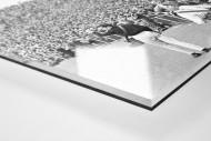 Zuschauer 1965 als Direktdruck auf Alu-Dibond hinter Acrylglas (Detail)