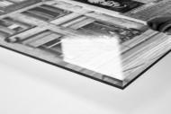 Litfaßsäule in Dresden als Direktdruck auf Alu-Dibond hinter Acrylglas (Detail)