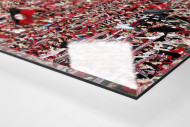 Club Fans in Berlin als Direktdruck auf Alu-Dibond hinter Acrylglas (Detail)