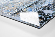 Racing Club Fankurve  als Direktdruck auf Alu-Dibond hinter Acrylglas (Detail)