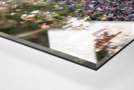 Haupttribüne Alte Försterei als Direktdruck auf Alu-Dibond hinter Acrylglas (Detail)