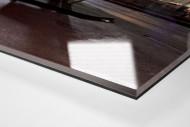 Bochumer Tanke bei Flutlicht als Direktdruck auf Alu-Dibond hinter Acrylglas (Detail)