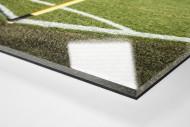 Eckfahne Signal-Iduna-Park als Direktdruck auf Alu-Dibond hinter Acrylglas (Detail)