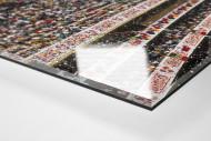 Ränge im Aztekenstadion als Direktdruck auf Alu-Dibond hinter Acrylglas (Detail)
