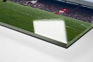 Abstoß im Old Trafford als Direktdruck auf Alu-Dibond hinter Acrylglas (Detail)