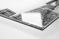 Jubel draußen am Millerntor als Direktdruck auf Alu-Dibond hinter Acrylglas (Detail)