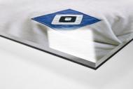 Uwe Seeler als Direktdruck auf Alu-Dibond hinter Acrylglas (Detail)