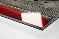 Sitzschalen als Direktdruck auf Alu-Dibond hinter Acrylglas (Detail)