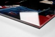 Neapel Tribüne als Direktdruck auf Alu-Dibond hinter Acrylglas (Detail)