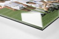 Jena im Rheinstadion als Direktdruck auf Alu-Dibond hinter Acrylglas (Detail)
