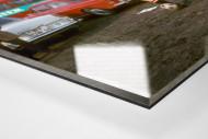 Strehl auf dem Parkplatz als Direktdruck auf Alu-Dibond hinter Acrylglas (Detail)