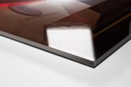 Spielertunnel Allianz Arena als Direktdruck auf Alu-Dibond hinter Acrylglas (Detail)