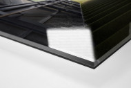 Spielertunnel Alte Försterei als Direktdruck auf Alu-Dibond hinter Acrylglas (Detail)