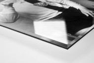 Sekt in Dresden als Direktdruck auf Alu-Dibond hinter Acrylglas (Detail)