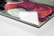 Ducke und Buschner als Direktdruck auf Alu-Dibond hinter Acrylglas (Detail)