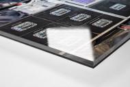 Ausrüstung LSU Tigers als Direktdruck auf Alu-Dibond hinter Acrylglas (Detail)