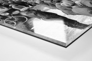 Schaulustige bei Paris-Roubaix als Direktdruck auf Alu-Dibond hinter Acrylglas (Detail)