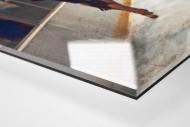 """Jubel nach dem """"Miracle On Ice"""" als Direktdruck auf Alu-Dibond hinter Acrylglas (Detail)"""