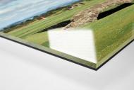 Old Course als Direktdruck auf Alu-Dibond hinter Acrylglas (Detail)