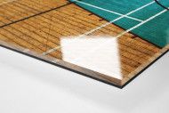 Basketballhalle in Estland als Direktdruck auf Alu-Dibond hinter Acrylglas (Detail)