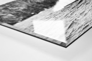 Surfen in Honolulu als Direktdruck auf Alu-Dibond hinter Acrylglas (Detail)
