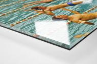 Rückwärts ins Wasser als Direktdruck auf Alu-Dibond hinter Acrylglas (Detail)