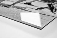 Ballspiel auf dem Schulhof (3) als Direktdruck auf Alu-Dibond hinter Acrylglas (Detail)