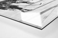 Eishockey in Chamonix (1) als Direktdruck auf Alu-Dibond hinter Acrylglas (Detail)