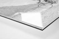 Hinterher bei der Tour 1949 als Direktdruck auf Alu-Dibond hinter Acrylglas (Detail)