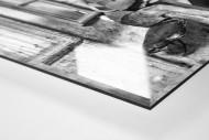 Rast im Wirtshaus bei der Tour 1922 als Direktdruck auf Alu-Dibond hinter Acrylglas (Detail)
