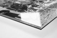 Ruhepause bei der Tour 1921 als Direktdruck auf Alu-Dibond hinter Acrylglas (Detail)