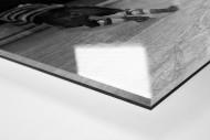Der Goalie von Streatham als Direktdruck auf Alu-Dibond hinter Acrylglas (Detail)
