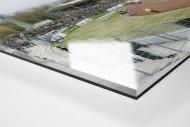 Koblenz als Direktdruck auf Alu-Dibond hinter Acrylglas (Detail)