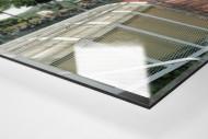 Bochum (Wattenscheid) als Direktdruck auf Alu-Dibond hinter Acrylglas (Detail)