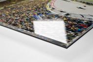 Hannover (2014) als Direktdruck auf Alu-Dibond hinter Acrylglas (Detail)