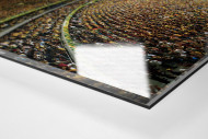 Brasília als Direktdruck auf Alu-Dibond hinter Acrylglas (Detail)