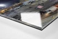 Stadio San Paolo bei Flutlicht (Panorama) als Direktdruck auf Alu-Dibond hinter Acrylglas (Detail)