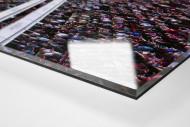 London (West Ham, 2016) als Direktdruck auf Alu-Dibond hinter Acrylglas (Detail)