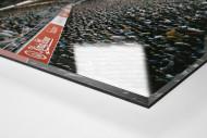 Duisburg als Direktdruck auf Alu-Dibond hinter Acrylglas (Detail)