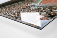 Kassel als Direktdruck auf Alu-Dibond hinter Acrylglas (Detail)