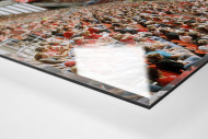 Mainz (2011) als Direktdruck auf Alu-Dibond hinter Acrylglas (Detail)