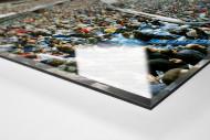 Madrid als Direktdruck auf Alu-Dibond hinter Acrylglas (Detail)