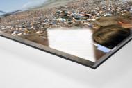 München (Grünwalder) als Direktdruck auf Alu-Dibond hinter Acrylglas (Detail)