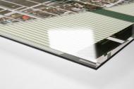 Freiburg als Direktdruck auf Alu-Dibond hinter Acrylglas (Detail)