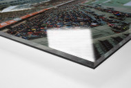 Nürnberg als Direktdruck auf Alu-Dibond hinter Acrylglas (Detail)