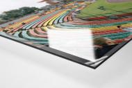 Berlin (Jahn-Sportpark) als Direktdruck auf Alu-Dibond hinter Acrylglas (Detail)