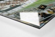 Essen (Stadion Essen) als Direktdruck auf Alu-Dibond hinter Acrylglas (Detail)