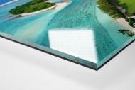 Fußballplatz an der blauen Lagune - Foto als Wandbild bestellen