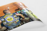 Kutte Tennis als FineArt-Print